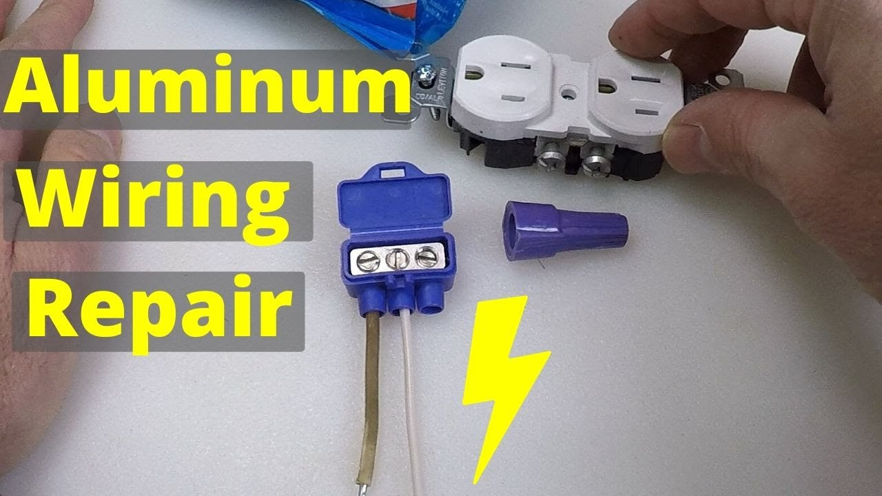Aluminum Wiring Repair Alumiconn Pigtail Connections Youtube
