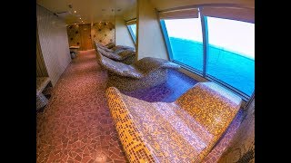 Carnival Sunshine Spa Tour Thermal Suite - Cruise Fever