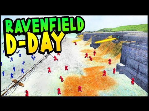 MASSIVE Invasion on an AWESOME D-DAY Map | (Ravenfield