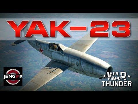 War Thunder Realistic: Yak-23 [MERRY CHRISTMAS!!]