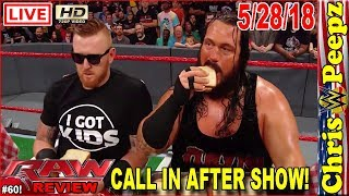 WWE MONDAY NIGHT RAW 5/28/2018 FULL SHOW REVIEW! HD Highlights Wrestling Results