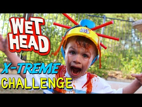 Thumbnail: Wet Head Challenge EXTREME!! || Family Game Night