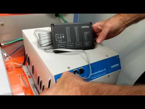 Xantrex Tech Tip - Freedom Marine Inverter/Charger Remote Panel