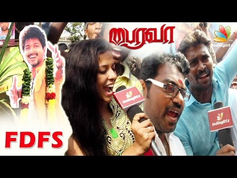 Bairavaa Movie Vijay Fans Celebration |...