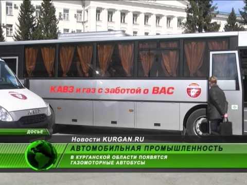 В Курганской области появятся газомоторные автобусы