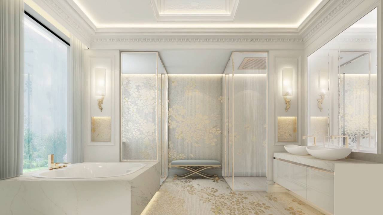 Ions Design Best Interior Design Company In Dubai Bathroom Design Collection Youtube