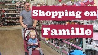 SHOPPING EN FAMILLE ! - ALLO MAMAN VLOG