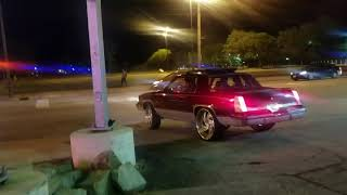 Cutlass Gt getting aggressive at gas stop