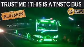 TNSTC Fully Customized Bus With Full Lights Tamilnadu SETC And TNSTC Buses