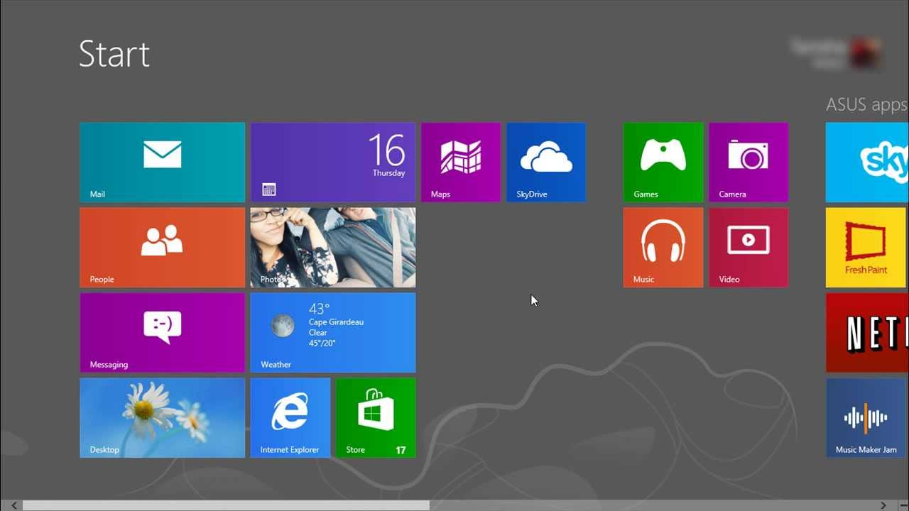 How To Close A Windows 8 App the Easy Way - YouTube