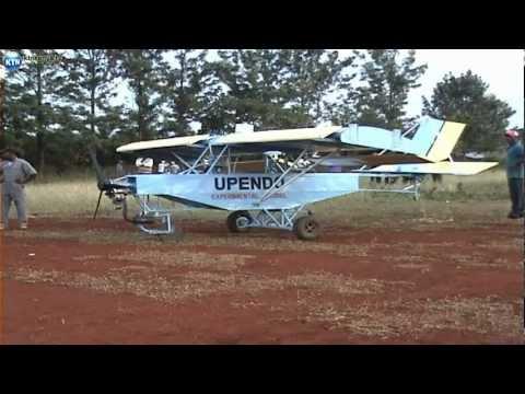 Kenyan Builds Aeroplane