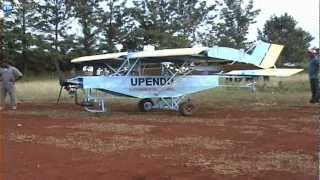 Kenyan Builds Aeroplane