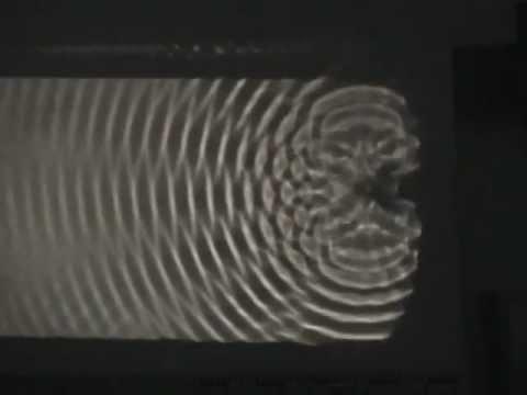 berlagerung von konzentrischen kreiswellen auf wasser youtube