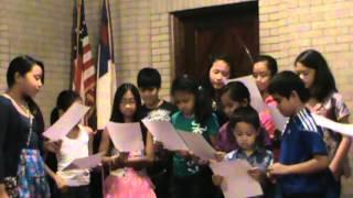 """""""Berkibarlah Bendera Negeriku"""" persembahan anak2 sekolah minggu EIPC"""