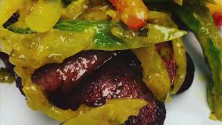 Grilled Kielbasa & Sweet Fries