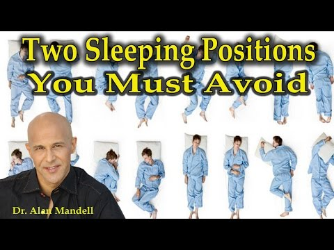 Two Sleeping Positions You Must Avoid - Dr Mandell