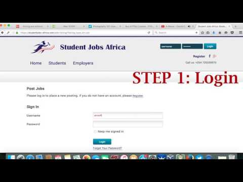 Student Jobs Africa