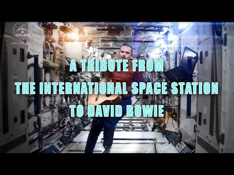 A Tribute From The International Space Station To David Bowie