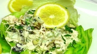 How To Make Almond Chicken Salad Recipe