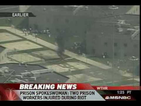 Riot at the Private Prions in New Castle, Indiana