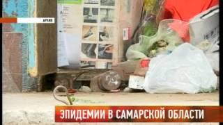 Эпидемии в Самарской области