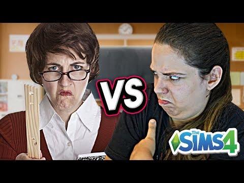 BRIGUEI COM A PROFESSORA! - Do Lixo ao Luxo 2 (The Sims 4) thumbnail