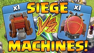 SIEGE MACHINES!  Unleash the BEASTS!  TH12 UPDATE Sneak Peak #5 | Clash of Clans