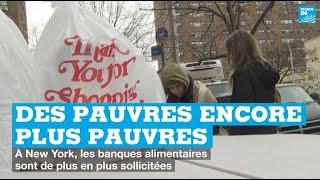 """Coronavirus : à New York, """"les pauvres sont maintenant encore plus pauvres"""""""