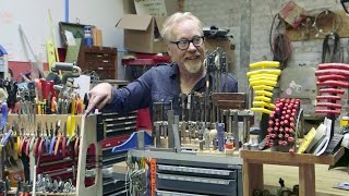 Adam Savage's Custom Tool Storage Stands