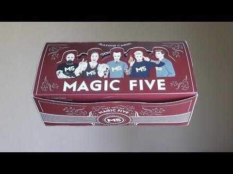 Я ПОЛУЧИЛ ГОДОВОЙ ЗАПАС КАРТ MAGIC FIVE!