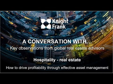 Hospitality real estate -  How to drive profitability through effective asset management