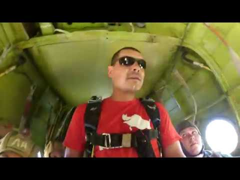 Прыжки с парашютом г. Грязи 13,08,17