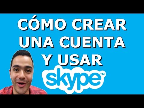 Cómo crear una cuenta y usar Skype 2017.