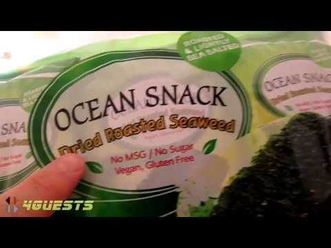 Radiation in Korean Seaweed Snacks?
