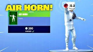 *NEW* AIR HORN EMOTE! New Fortnite Item Shop - (Fortnite Battle Royale)