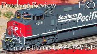 Product Review HO ScaleTrains C44-9W SP (has One Error - See Description)