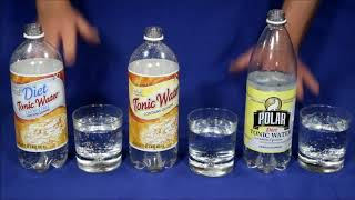 Tonic Water Glow Tests