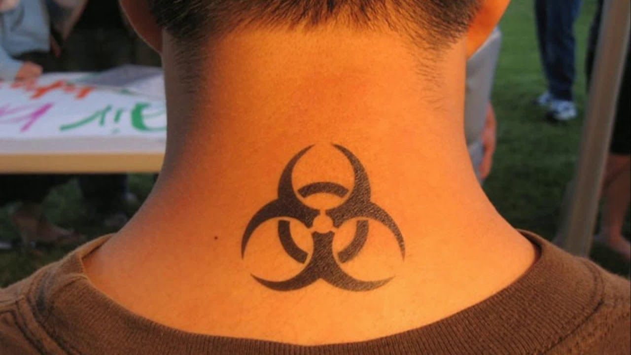 Small Tattoos For Men On Neck
