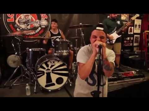 Stray From The Path - Badge & A Bullet Part II (Live at Looney Tunes Record Release; 8/17/15)