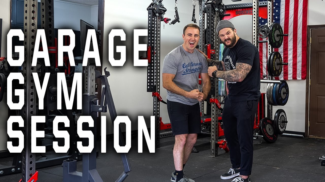 Garage gym session with matt vincent from hviii brand goods youtube