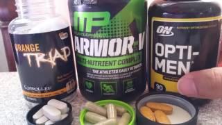 Multi-Vitamins: Opti-Men vs Armor-V vs Orange Triad thumbnail