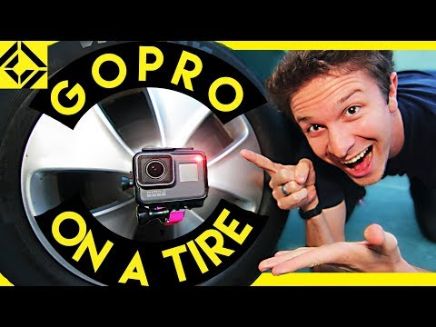 Gopro On A Tire!