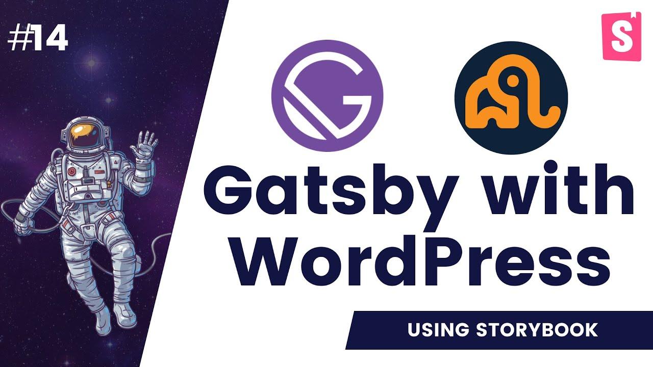 Storybook for Gatsby | storybook react | storybook gatsby