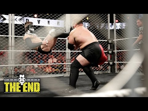Finn Bálor vs. Samoa Joe - NXT Title Steel Cage Match: NXT TakeOver: The End... on WWE Network