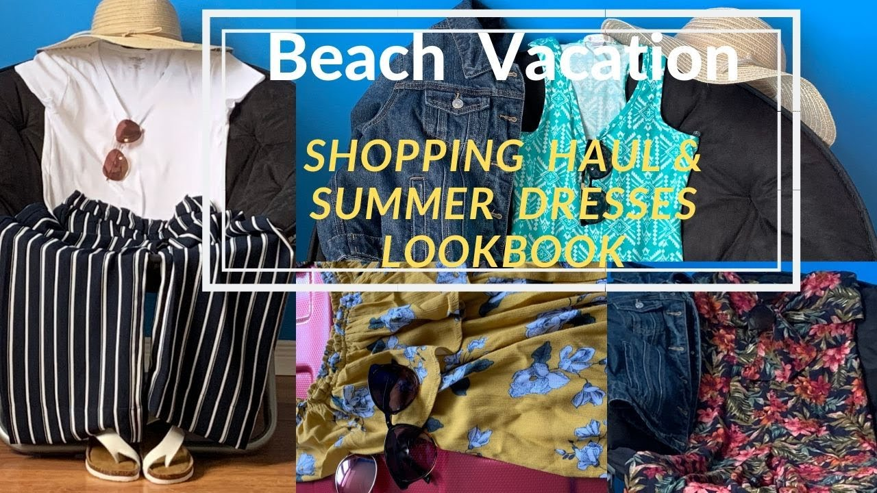 Beach Vacation Summer dresses - Shopping Haul | Lookbook | CanadaTamil vlog | #Torontoshopping