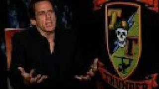 Ben Stiller Interview For Tropic Thunder In HD