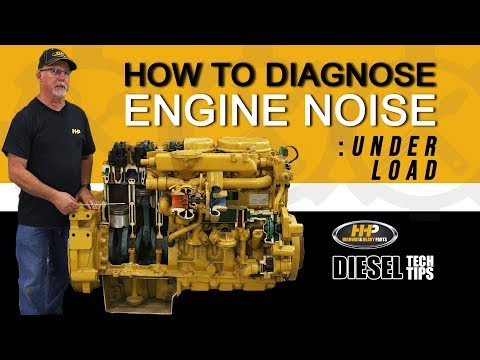 How to Diagnose Diesel Engine Noise While Under Load