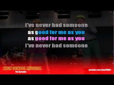 KARAOKE What I've Been Looking For - High School Musical