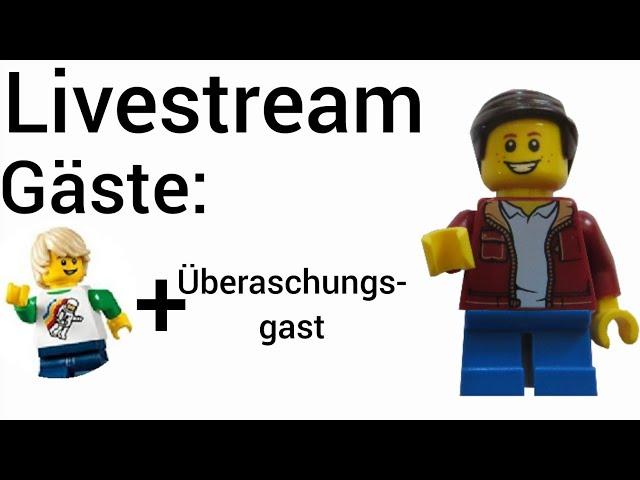 Livestream mit Lego Stadtzeit