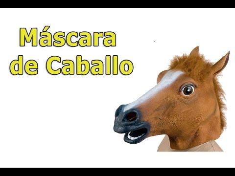 Mascara de Caballo - YouTube